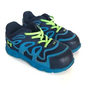 Under Armour Spine boys sneakers, toddler 7